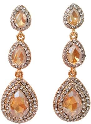 melange fashions MFJ03 Crystal Alloy Chandelier Earring