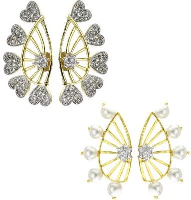 Shubh 4u Beautiful Cubic Zirconia Alloy Earring Set