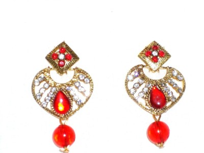Shrungarika fashionable Alloy Drop Earring, Chandbali Earring