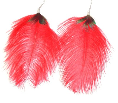 Adimani Niraka Feather Alloy Dangle Earring