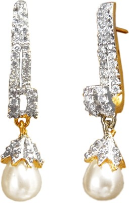 Camy Classic Choice Cubic Zirconia Alloy Drop Earring
