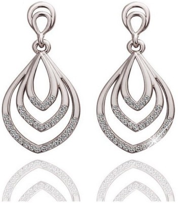 ArietteJewels Joyous Earring - Silver Copper Drop Earring