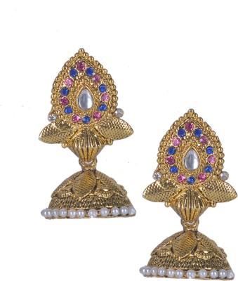 Aakhya JHM8 Alloy Jhumki Earring