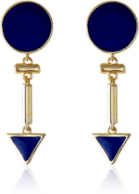 Amroha Crafts Royal Passion Decadic Alloy Drop Earring