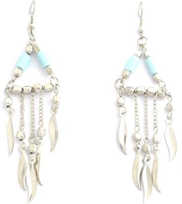 Laron Handicrafts Glass, Metal Chandelier Earring