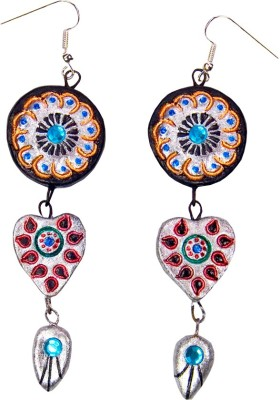Retaaz Hridayani Karnika Terracotta Ceramic Dangle Earring