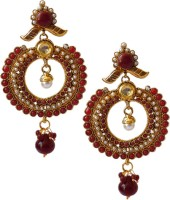 Rich Lady Alloy Dangle Earring