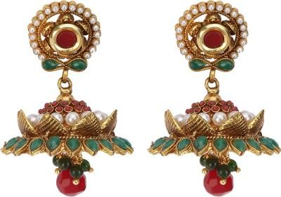 Rays KJM575 Pearl Copper Jhumki Earring