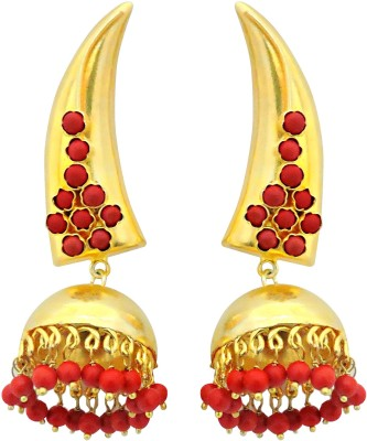 Cultural Fusion Fusion Jhumki Alloy Jhumki Earring