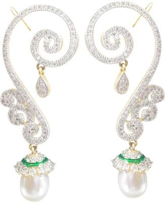 Midas Fashion Cubic Zirconia Alloy Cuff Earring