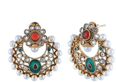 Satyam Jewellery Nx Traditional Copper Chandbali Earring