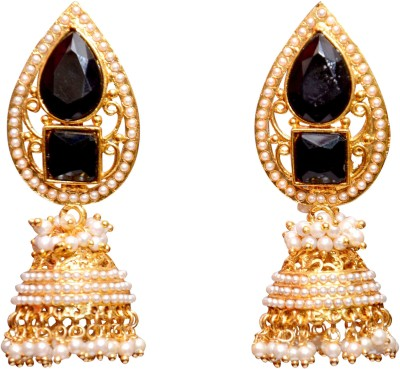 Neelam Fashions And Accessories neel7000m9 Alloy Jhumki Earring