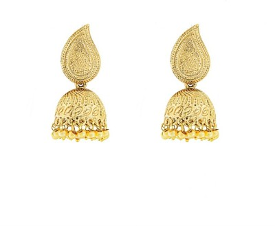 Art Nouveau Fancy New Design Antique Traditional Brass Jhumki Earring