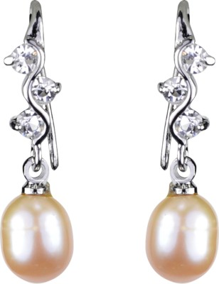 Pearl Paradise Waverly Pearl Alloy Drop Earring