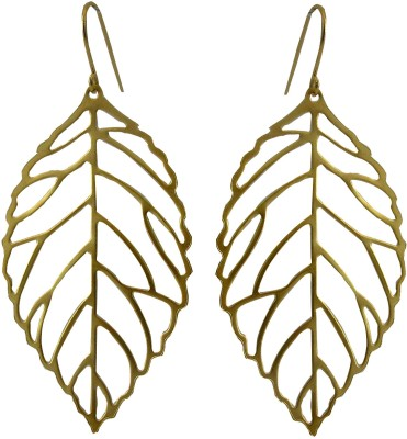Oumya Jewels Brass Drop Earring