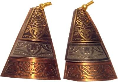 Trendz Mart Global Spring Sparkle Metal Dangle Earring