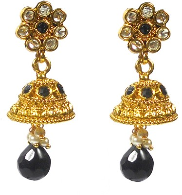 Rejewel Antique Alloy Jhumki Earring