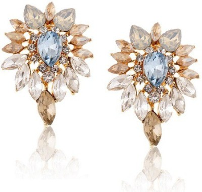 The Sparkle Connection Perrier Crystal Alloy Drop Earring