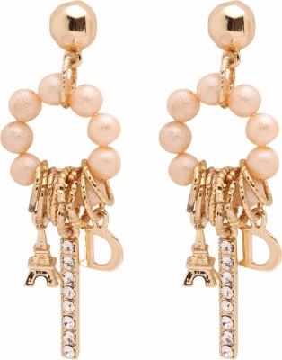 Alyssum Designs ADE-06 Brass Dangle Earring