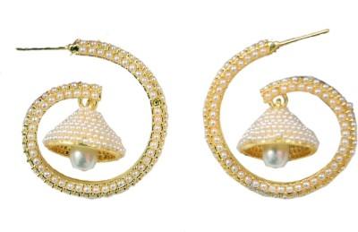 Uzuri Trendy Copper Jhumki Earring