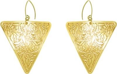Kenway Retail Zingara Ritz Brass Dangle Earring