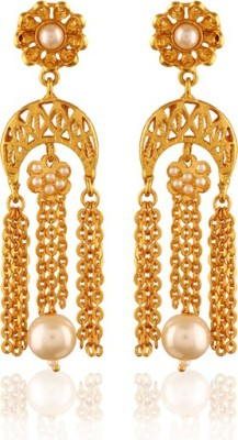 Panjarat Vondrous Gold plated antique earring Copper Drop Earring