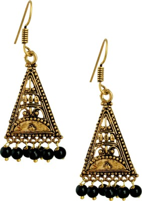 Pinnie Ethnica Rajasthani GS Brass Dangle Earring