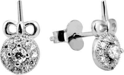 Payalwala Beryl Sterling Silver Stud Earring