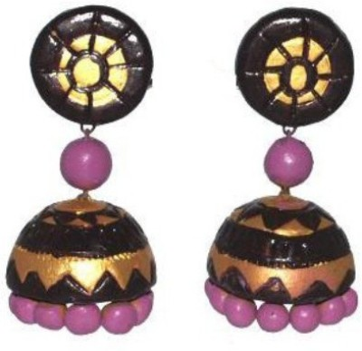 Aanya Creations Eco Friendly Ceramic Jhumki Earring