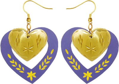 Kenway Retail Glamorous Beats Brass Dangle Earring
