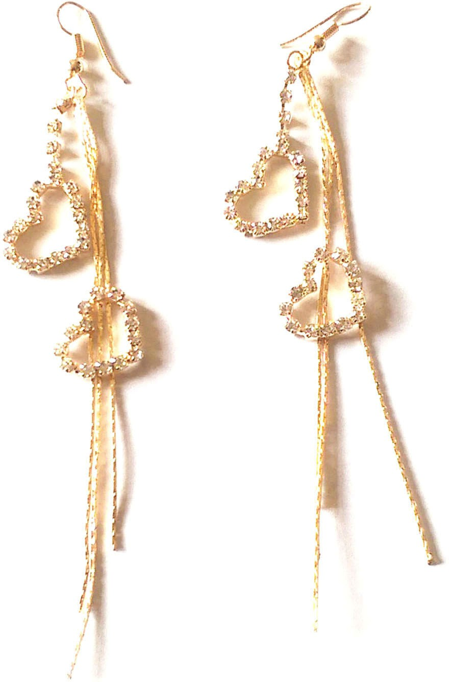 Deals - Delhi - From Ayesha.. <br> Long Chain Earrings<br> Category - jewellery<br> Business - Flipkart.com
