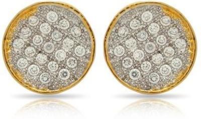Luxor Fashionable Brass Stud Earring