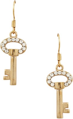 20Dresses Zircon Metal Dangle Earring