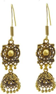 Gurjari HANGZUMKH Brass Jhumki Earring