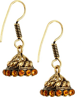 Pinnie Ethnica Antique GS Brass Dangle Earring