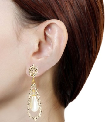 Prisha PPIPLCZER49 Copper Drop Earring