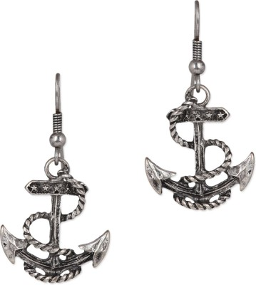 Jewelizer Circle of Life Alloy Dangle Earring