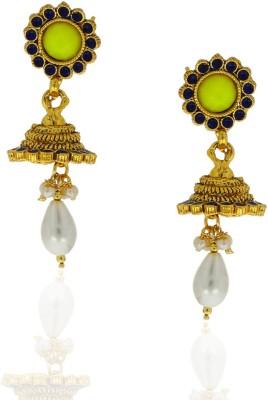 Anuradha Art Beautifully Designed Metal Jhumki Earring