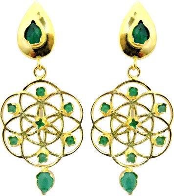 Cultural Fusion Galaxy inspired Alloy Drop Earring