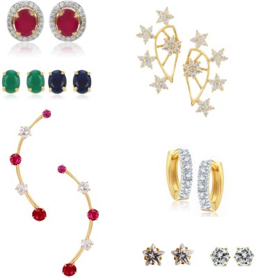 Archi Collection Just like Diamond Alloy Earring Set