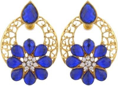 Shourya Indian Designer Earrings Alloy Stud Earring