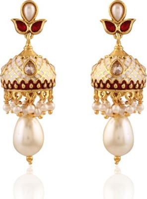 Panini NANDINI Brass Jhumki Earring