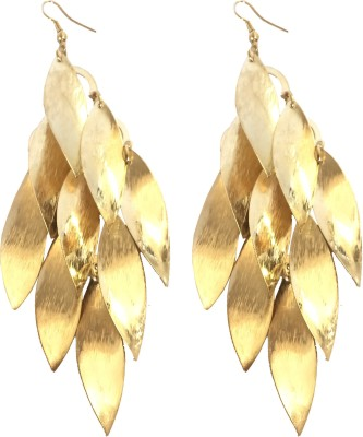 Adrisya Falling Leaves Alloy Dangle Earring