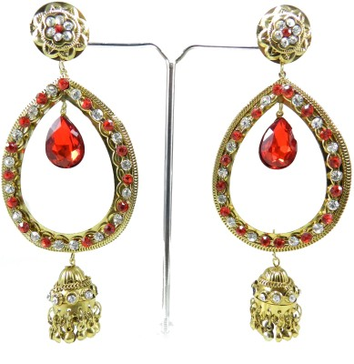 Tradeyard Impex Lovely Cubic Zirconia Alloy Drop Earring