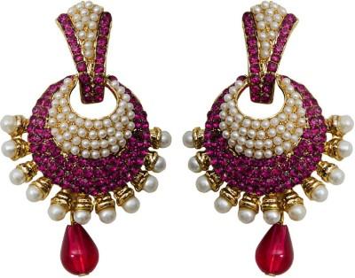 Grand Jewels Antique Pink Alloy Drop Earring