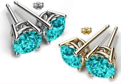 Glimmering Swarovski Crystal Alloy Earring Set
