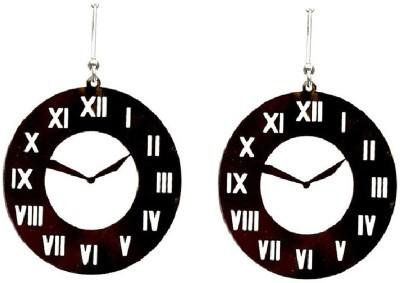 LeCalla Clock Stopper Dangler Sterling Silver Dangle Earring