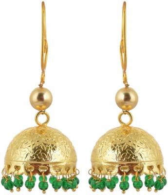 Rajasthani Traditions Bridal Collection Brass Jhumki Earring