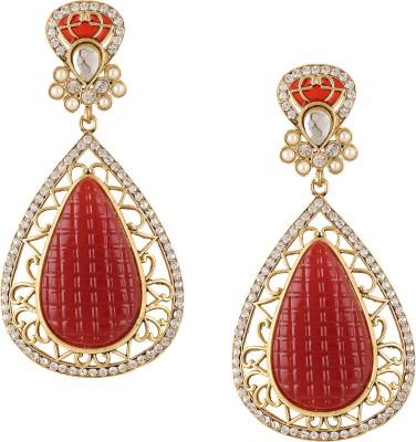 Nami Spring Sparkle Zinc Drop Earring