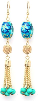 Madclozet Peace out Metal Dangle Earring